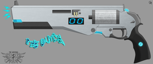 The Arsenal: The Glitch shotgun by OUTMACED121