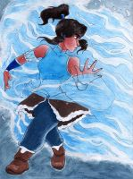 The legend of Korra: Water by bealor