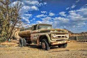 old water tank car by fahad8702