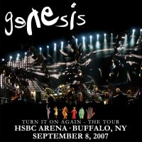 Genesis Live In Buffalo Cover by ediskrad-studios