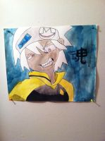 Soul Eater ( water color portrait) by KylievonDreb99