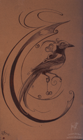 + C is for Corvidae + by ShePaintsWithBlood