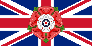 Combined flag of language: English by hosmich