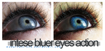 Intense bluer eyes action by ModernActions