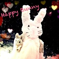 Natural Bunny Scarf by Cateaclysmic