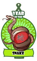 Year of the Snake by ElementJax