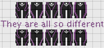 They are all so different by lpanne