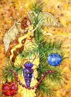 Christmas Faery by JoannaBromley