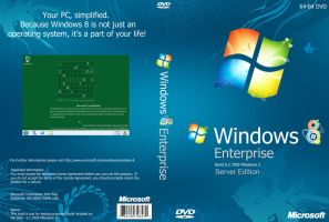Windows 8 M3 DVD Cover by Misaki2009