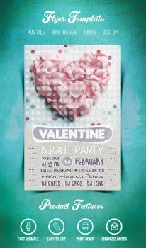 PrewValentine Flyer/Poster Vol.4 by another-graphic