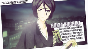 Rukia Kuchiki Comic Style Tag by TattyDesigns