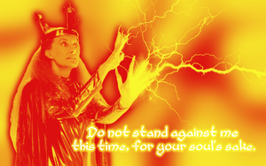 Do Not Stand Against Me by Leda74