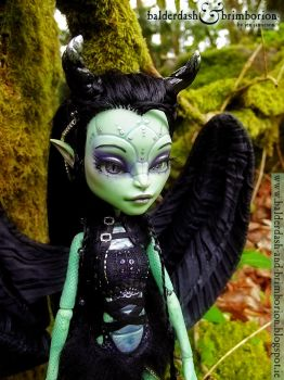 Monster High doll customization commission by jen-jamieson