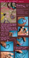Heart within a heart tutorial by colourful-blossom