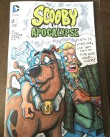 Scooby-Doo Apocalypse Sketch Cover by DustinEvans