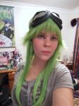 New Gumi WIG + GOGGLES~!! by VortexCosplay