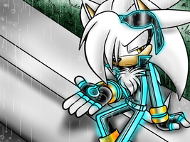Imma Just Let It Rain... by Tron-Silver