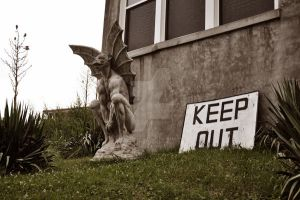Waverly Hills Gargoyle 1 by HodkinsonPhotos