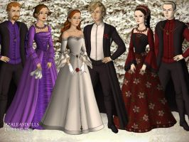 Rose Weasley and Scorpius Malfoy Wedding by MadieKristineC