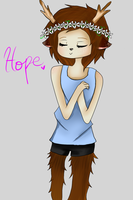 Hope - With Lineart by tigerwolfie2655