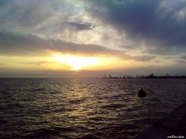 whispering sunset by CiaSalonica