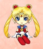 Chibi Sailor Moon by niolynn