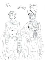 Van & Zane Line art 13-24-8 by Lisa22882