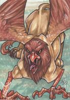 Cryptids - Griffin by dixey