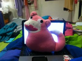 Slowpoke PokePillow by AmberTDD