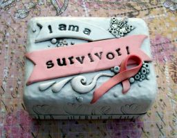 Cancer Survivor Trinket Box by MandarinMoon