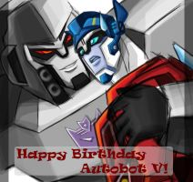 Happy Birthday Autobot V by murr-miay
