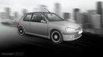 Peugeot 106 - City by Terror-Inferno