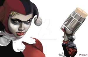 Harley Quinn by PonceArt