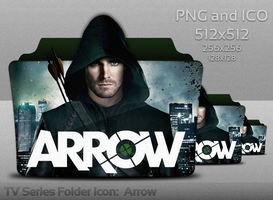 Arrow Folder Icon by atty12