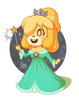 Space Princess Isabelle by daisyein