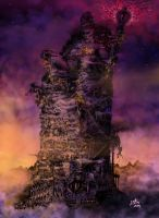 The Tower of Babel by kaiosart
