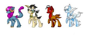 [CLOSED] Mythological Pony Adopt Batch by Twerka-Trever