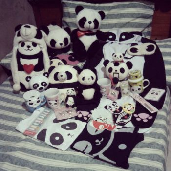 Panda Collection by misspastelrose