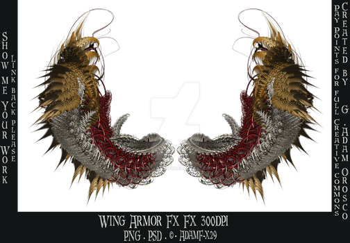 Wing Armor Fx by ArtwithoutabrushFx