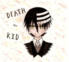 Death the Kid colored by eeveelover893