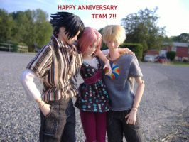 Happy Anniversary Team 7 by Ten-ten18