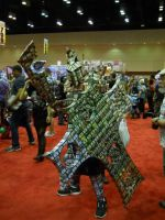 Megacon 2013 Magic The Gathering Card Armor by Ever-Rin