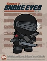 Snake Eyes by supermanisback