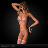 Lingerie Models by DarkFantasy69