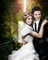 Rose and Emmett Cullen wedding by MorganEndres
