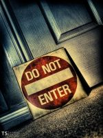 Do Not Enter by Tom-Stokes