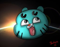 Awesome Gumball by The-B-Meister