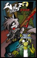 Comic cover for Wolf Next Door by bazabat