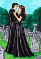 dance with me in the graveyard by CSupernova