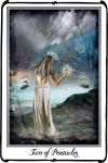 Tarot-Two of Pentacles by azurylipfe